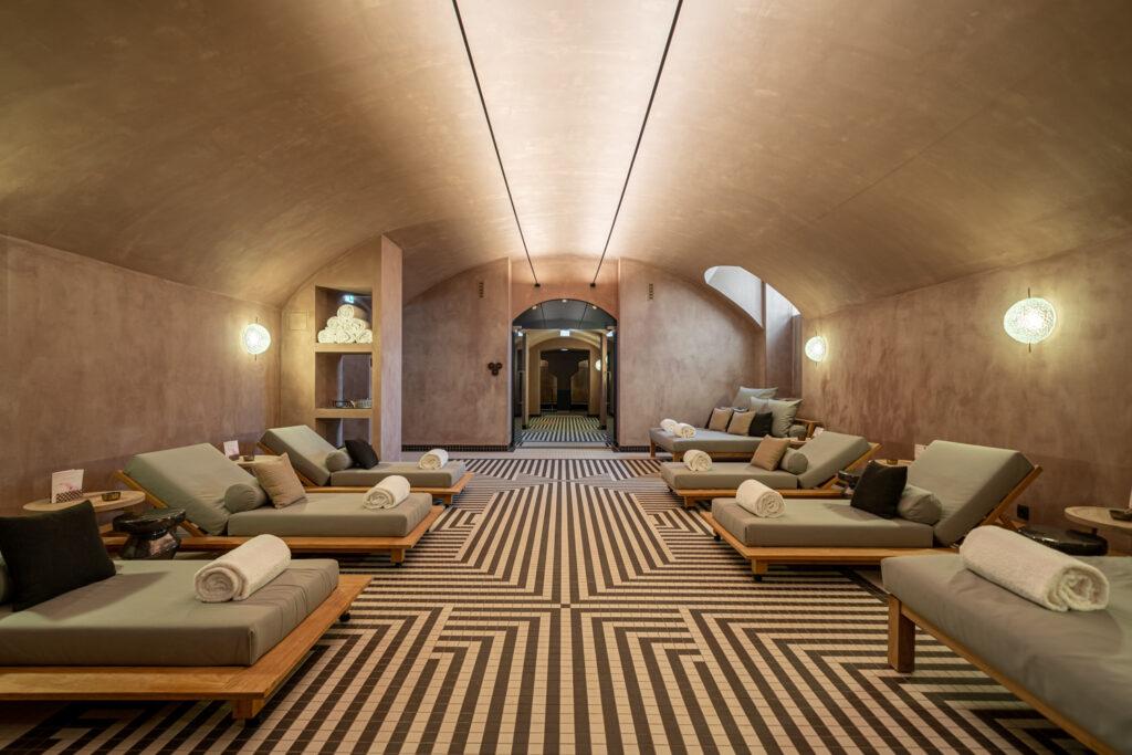 Turai Kastély Botaniq spa wellness pihenő szoba